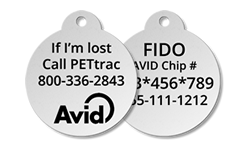 Pet Collar Tag